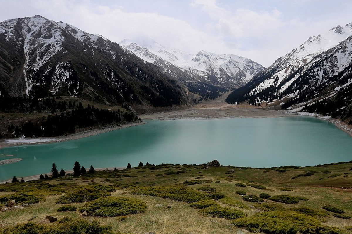 Trekking in Left Talgar and Big Almaty lake and gorge, Almaty province, Kazakhstan