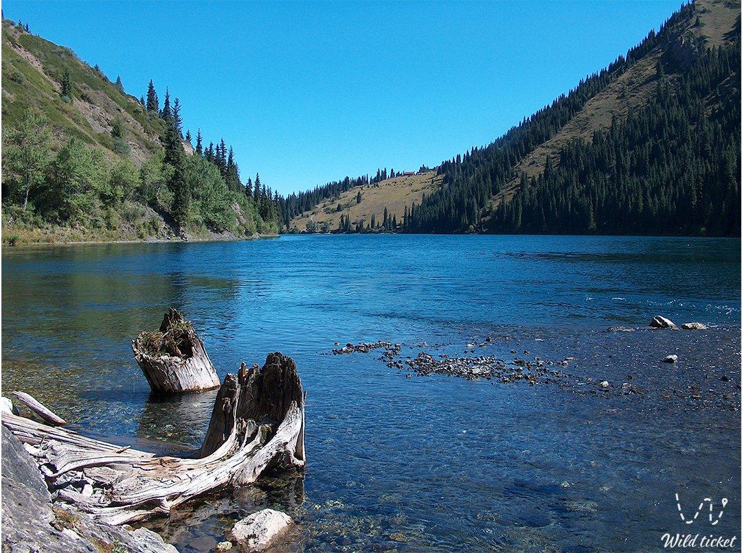 Kolsay lakes, the Pearl of Kazakhstan.