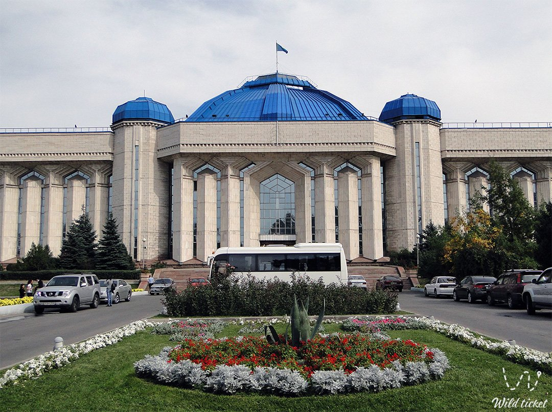 National Central State Museum in Almaty, Kazakhstan