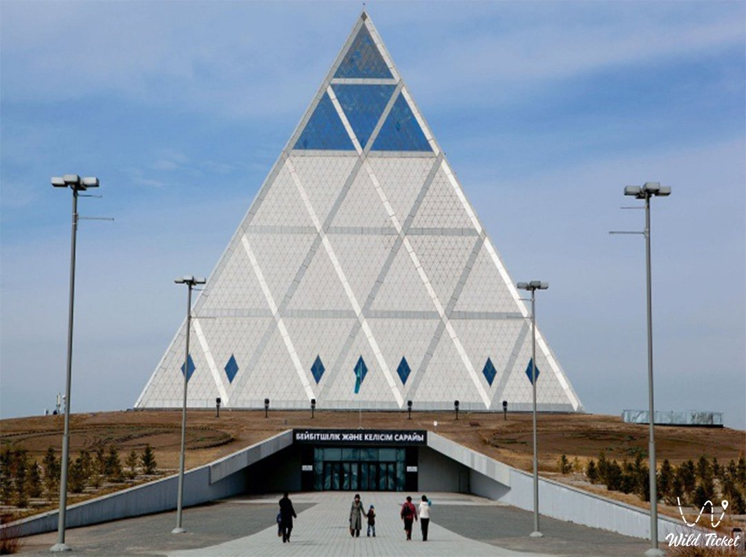 Palace of Peace and Reconciliation - The Pyramid of Peace and Accord in Nur-Siltan city