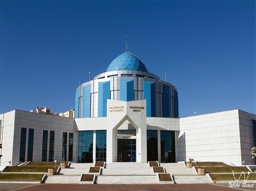 Presidential Center of Culture of the Republic of Kazakhstan in Nur Sultan city