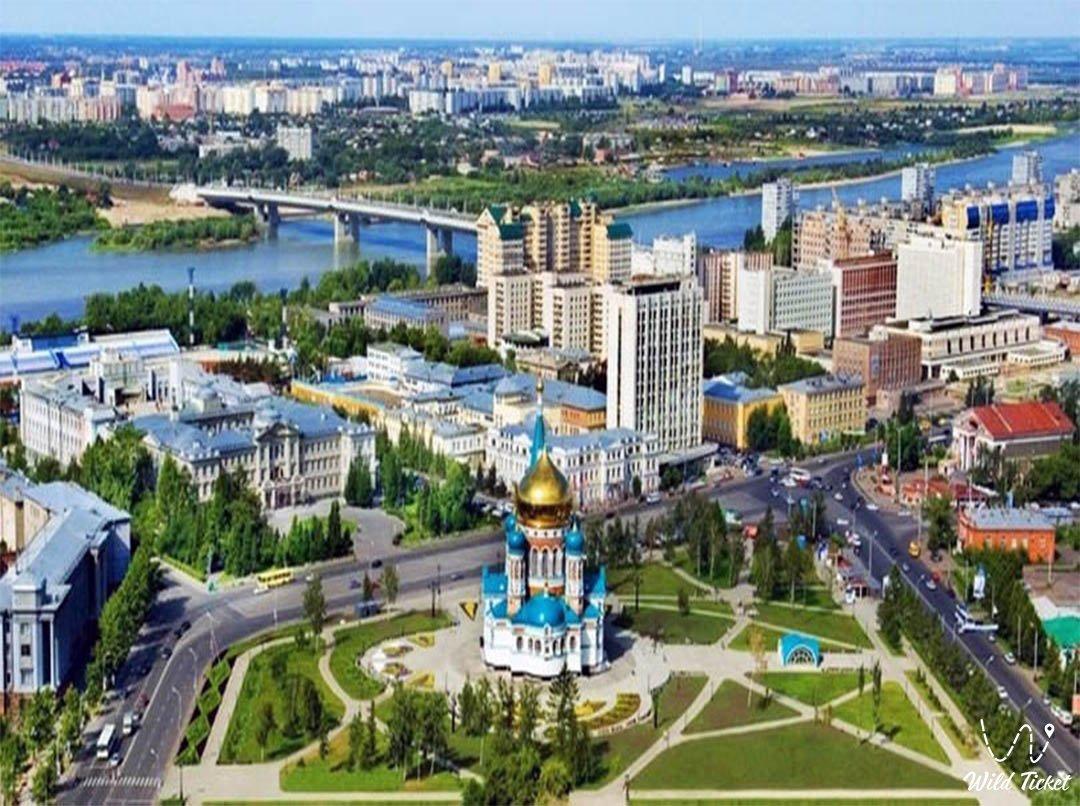Pavlodar City in Kazakhstan Republic.