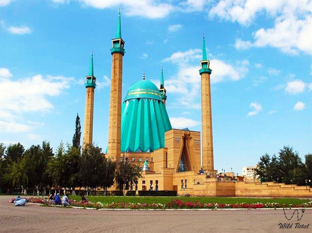 Mashkhur Jusup Mosque in Pavlodar city