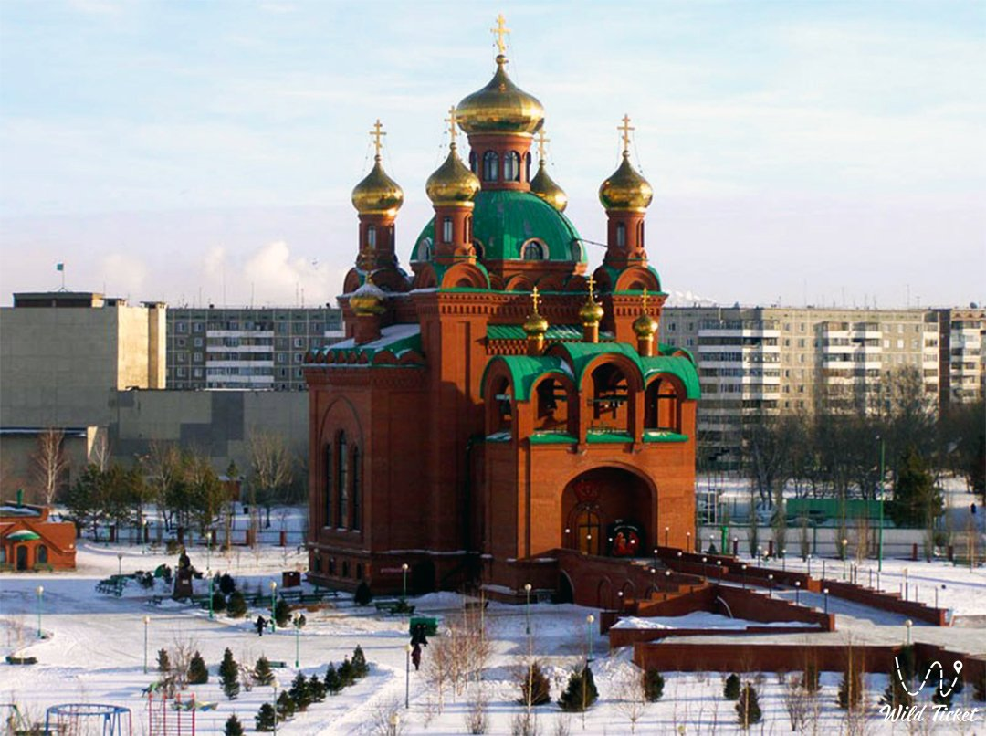 The Annunciation Cathedral of Pavlodar (Blagoveshchenskiy cathedral)