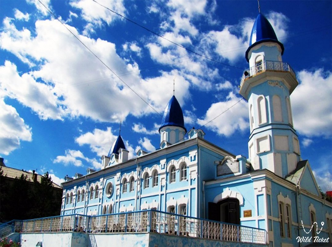 Maral Ishan Mosque in Kostanay city