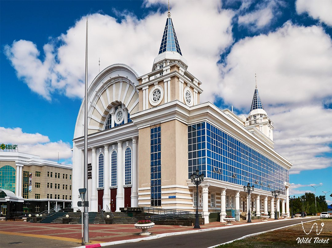 Kazakh Drama Theater named I.Omarov in Kostanay.