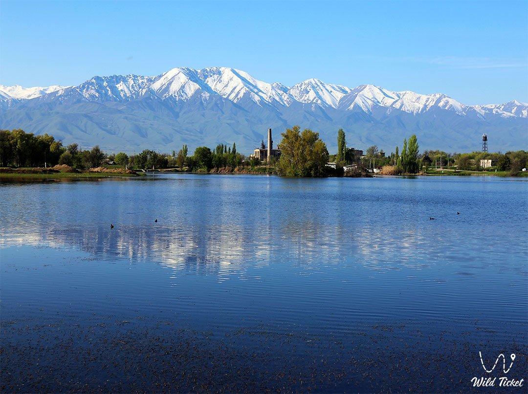 Jambyl Region in Kazakhstan Republic.