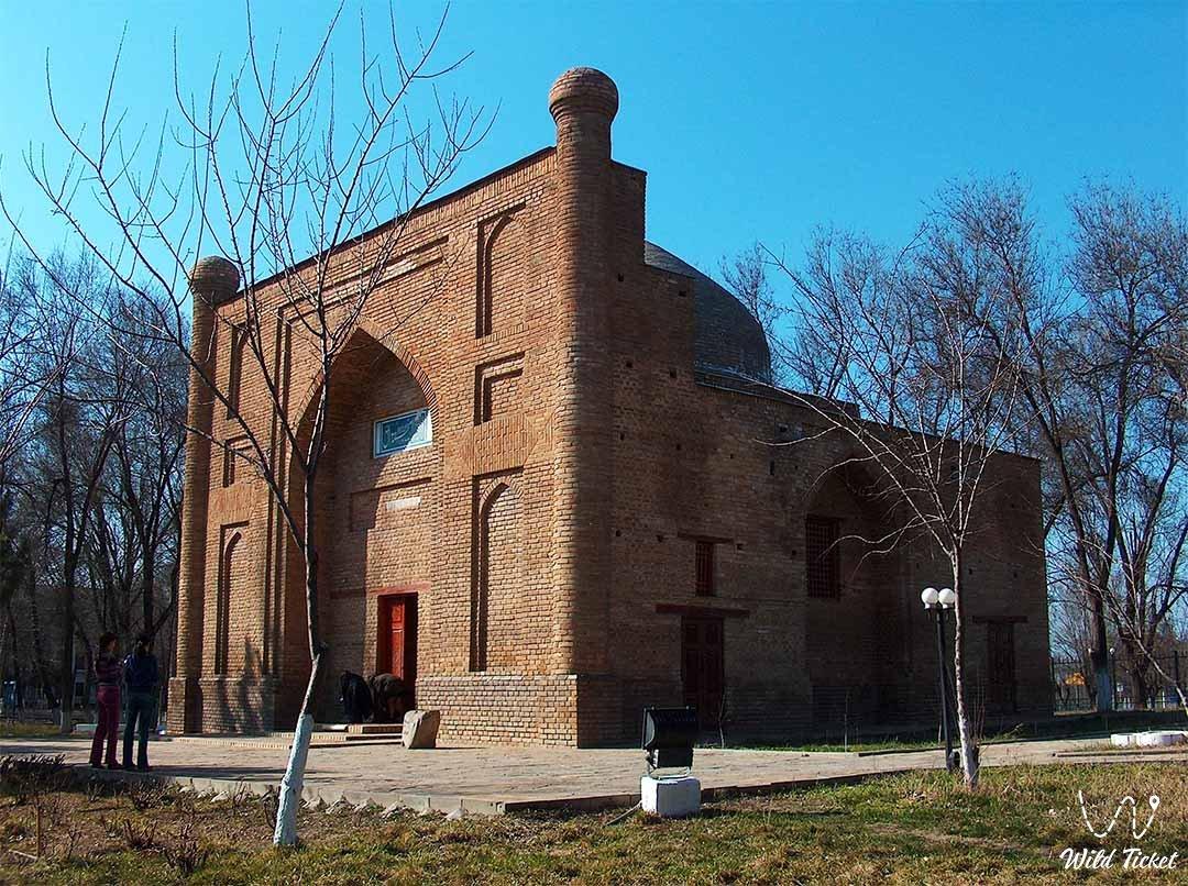 Mausoleum of Karakhan, Taraz city Jambyl province and region.