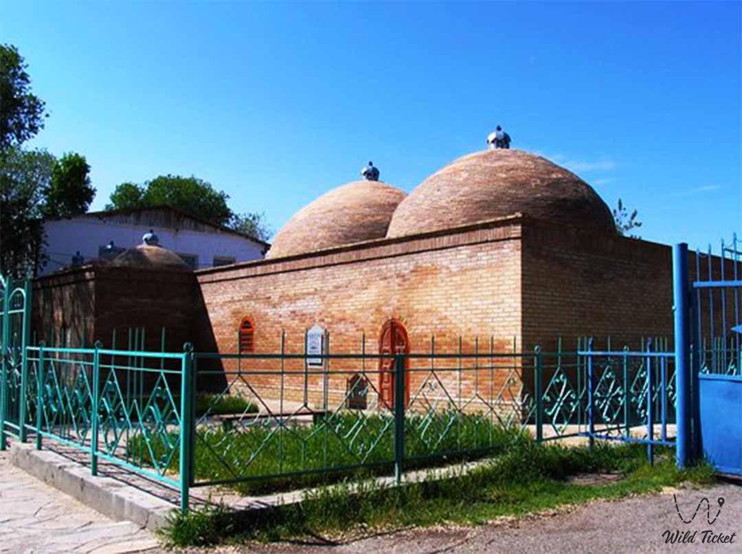Bath of Kali Yunus in Taraz city Kazakhstan.