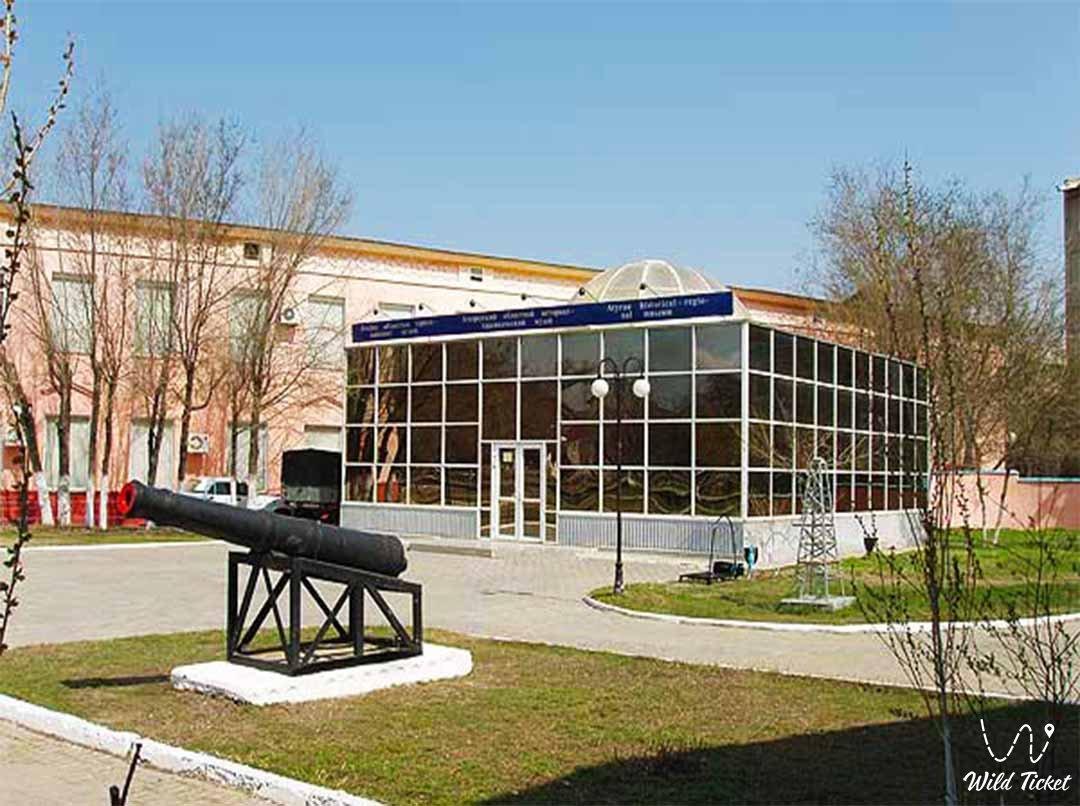 Atyrau city museum.