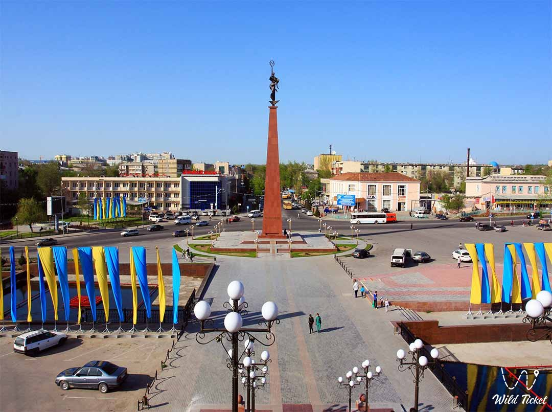 Shymkent city - East Kazakhstan region.