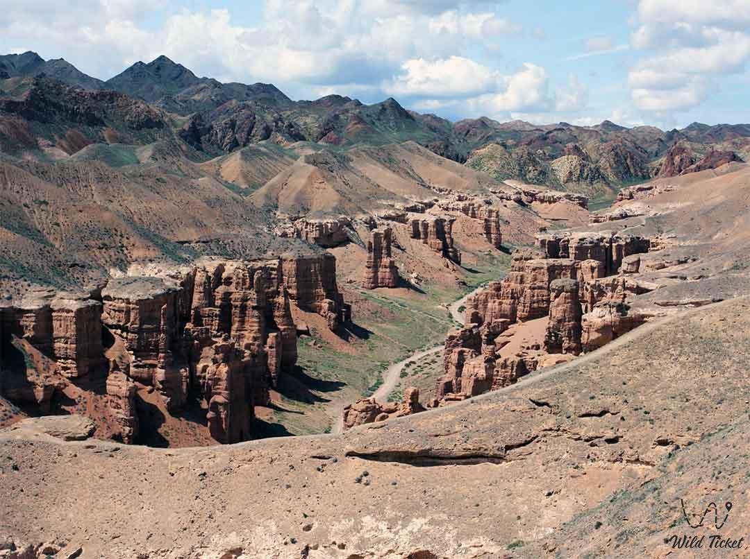 Charyn National park, Charyn canyon, Almaty region, Kazakhstan.