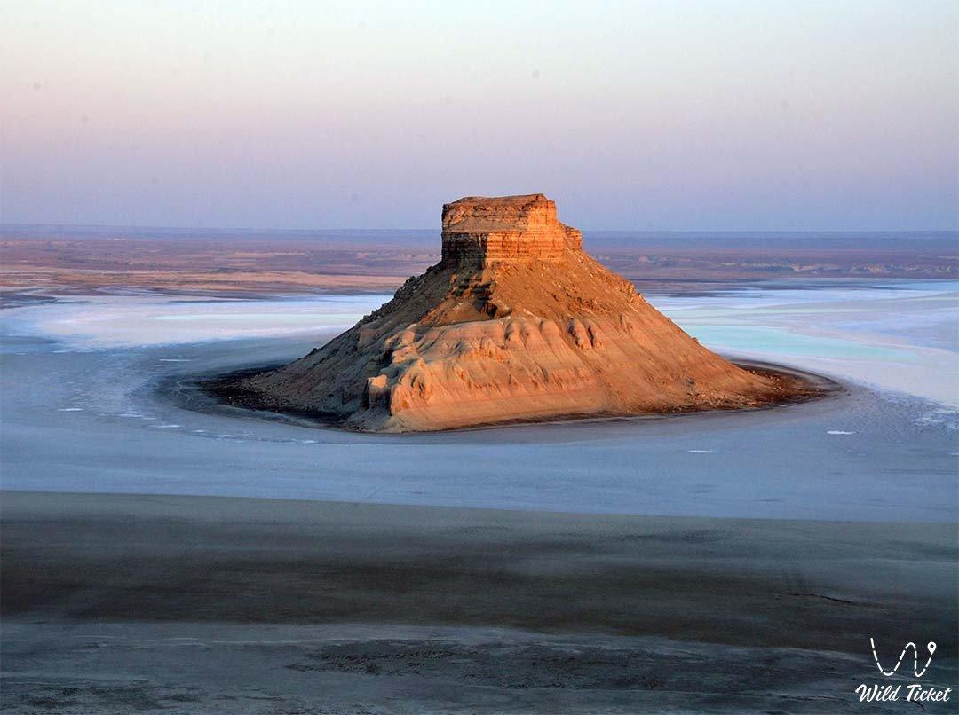 Mangishlak peninsula - Mangistau region, Kazakhstan.