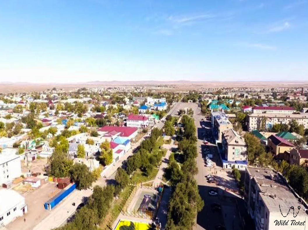 Ayagoz city - East Kazakhstan region.
