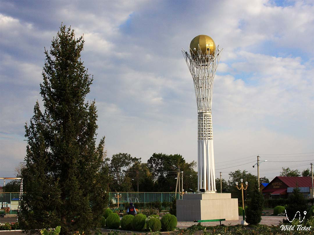 Zaysan city - East Kazakhstan region.