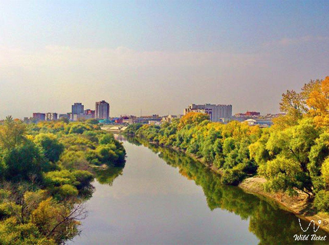 Тобол река в Казахстане и России.