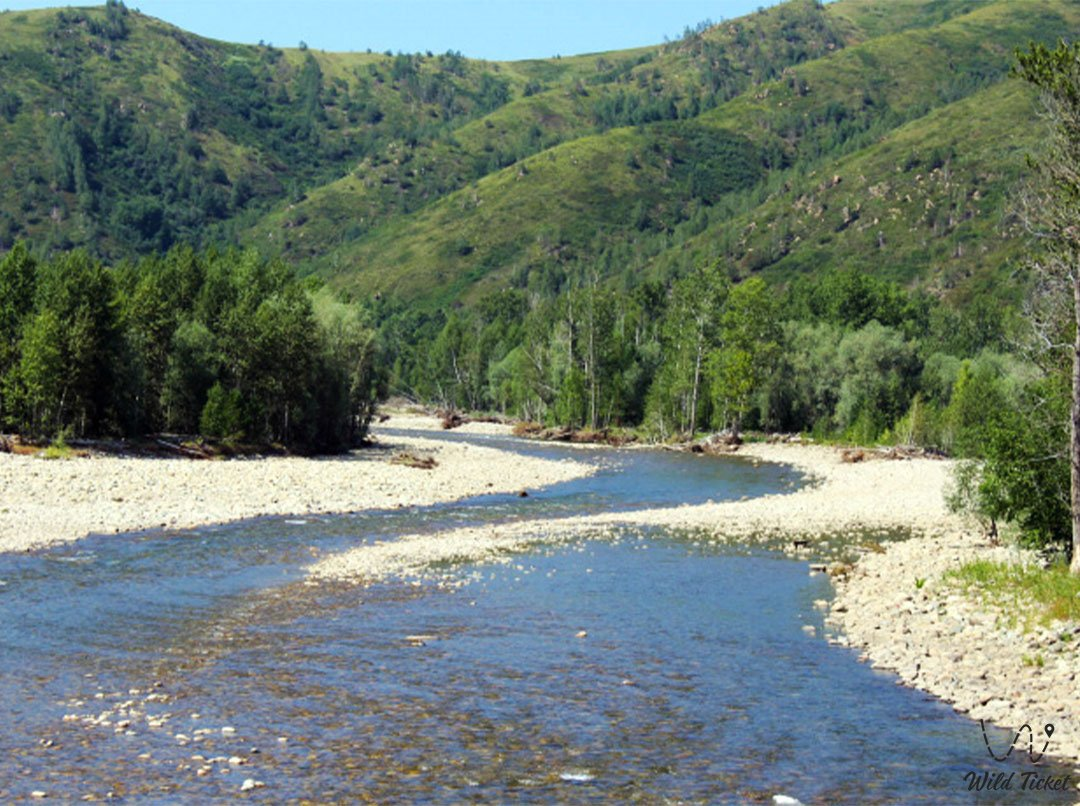 Ульба река в Восточном Казахстане.