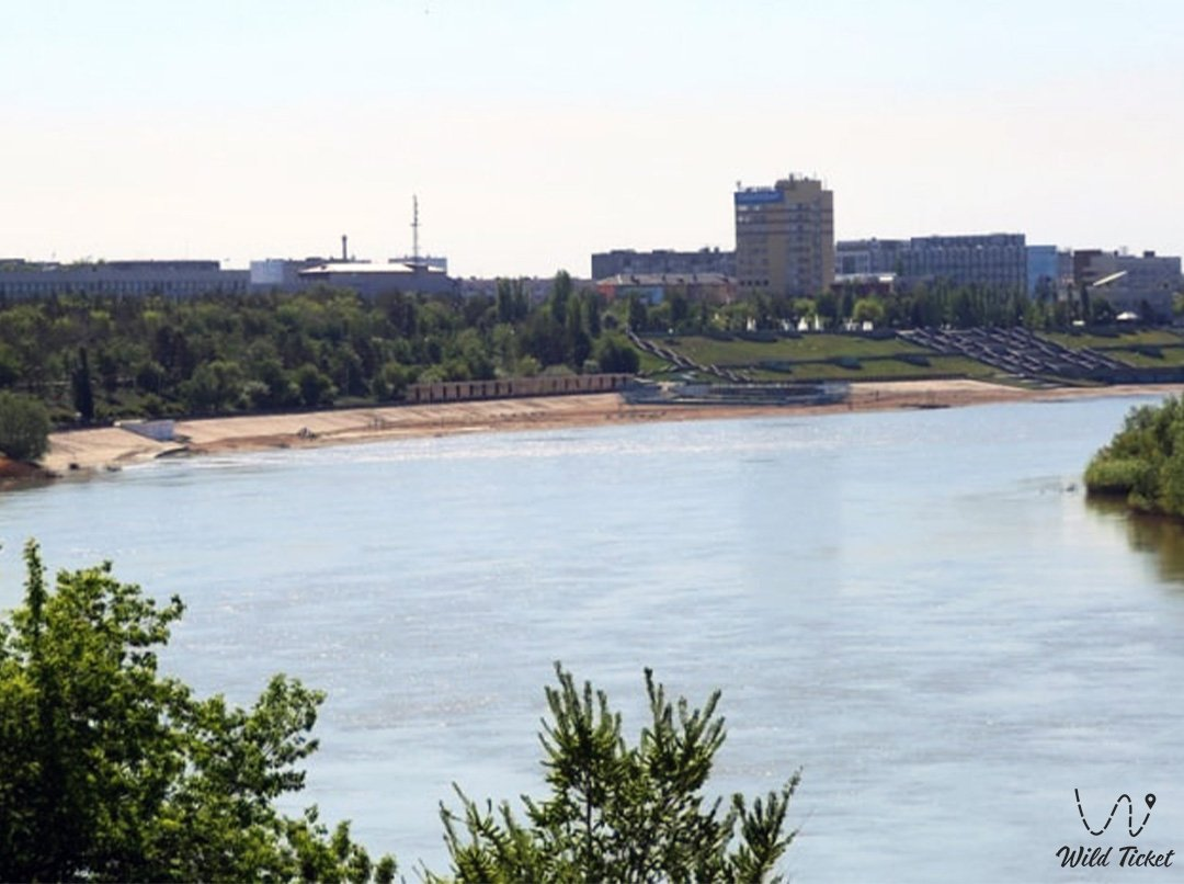 Irtysh river in Kazakhstan and Russia.