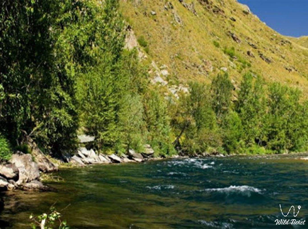 Курчум река в Казахстане.