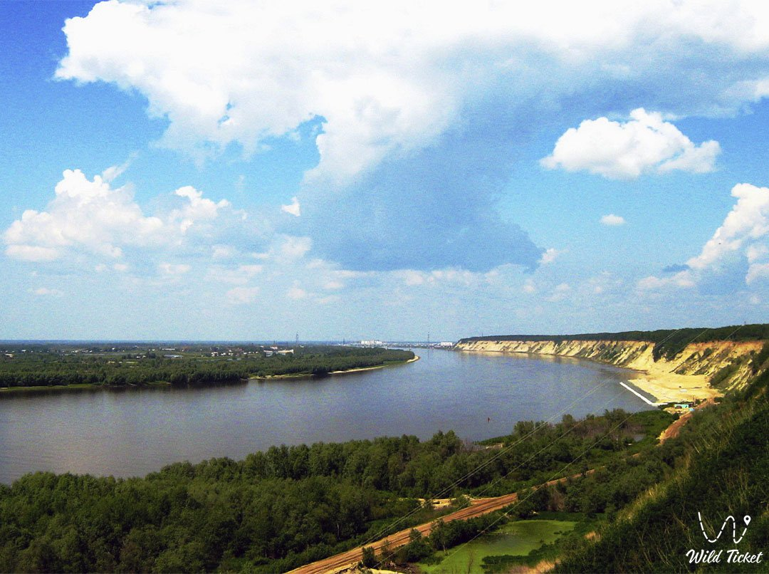 Териссакан река в Карагандинской области, Казахстан.