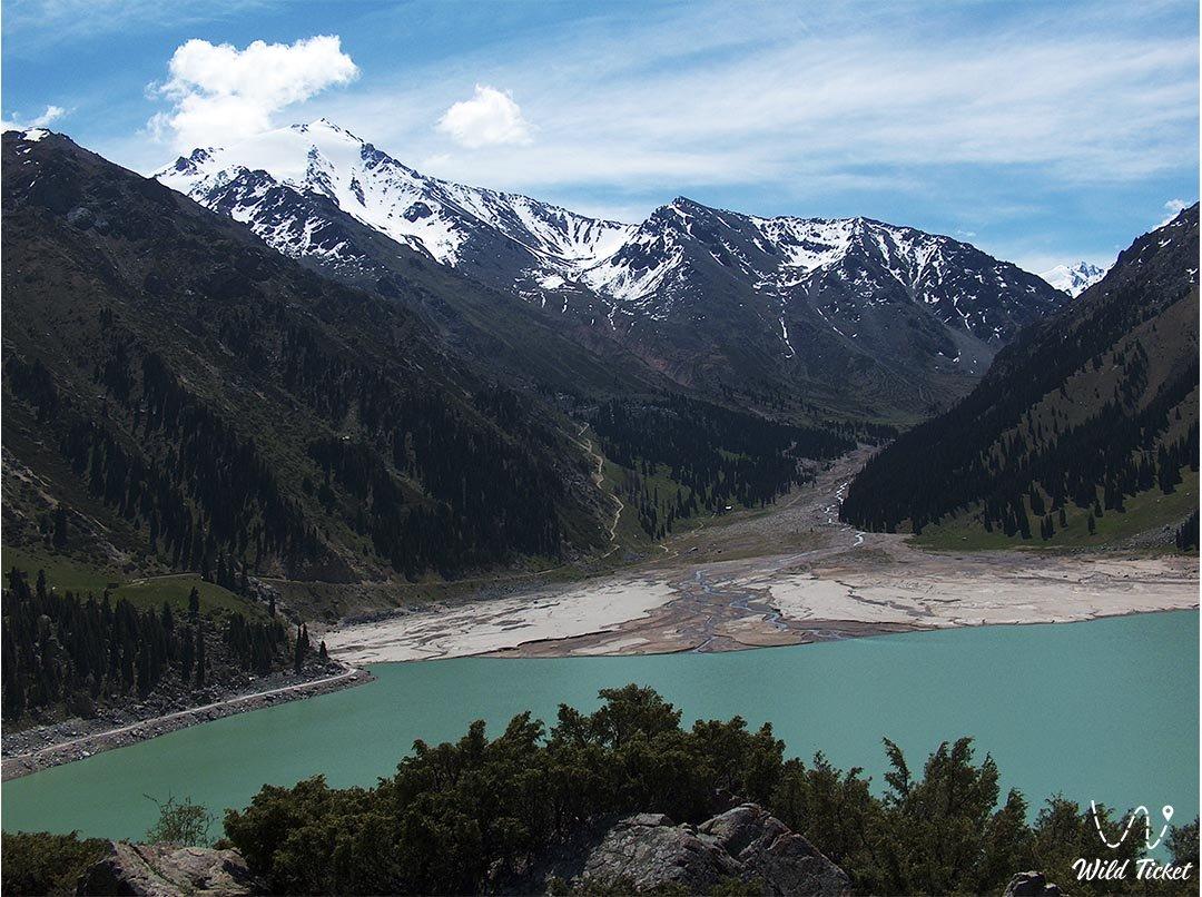 Ile Alatau nature park in Almatty region, Kazakhstan.