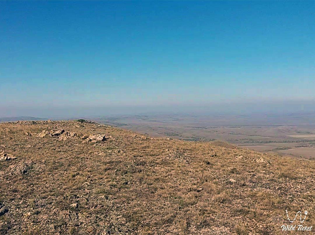 Akdym mount in Akmola region. Kazakhstan.