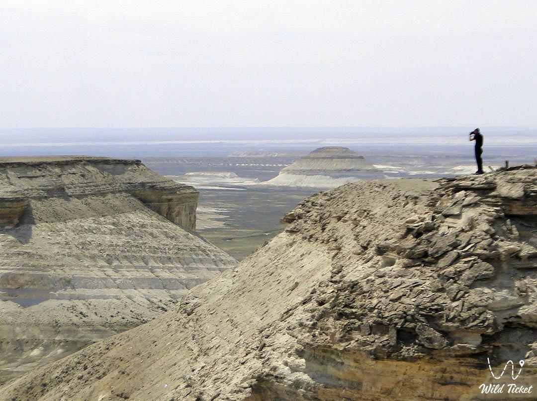 Boszhira panorama number #1 in Mangystau region, Kazakhstan.