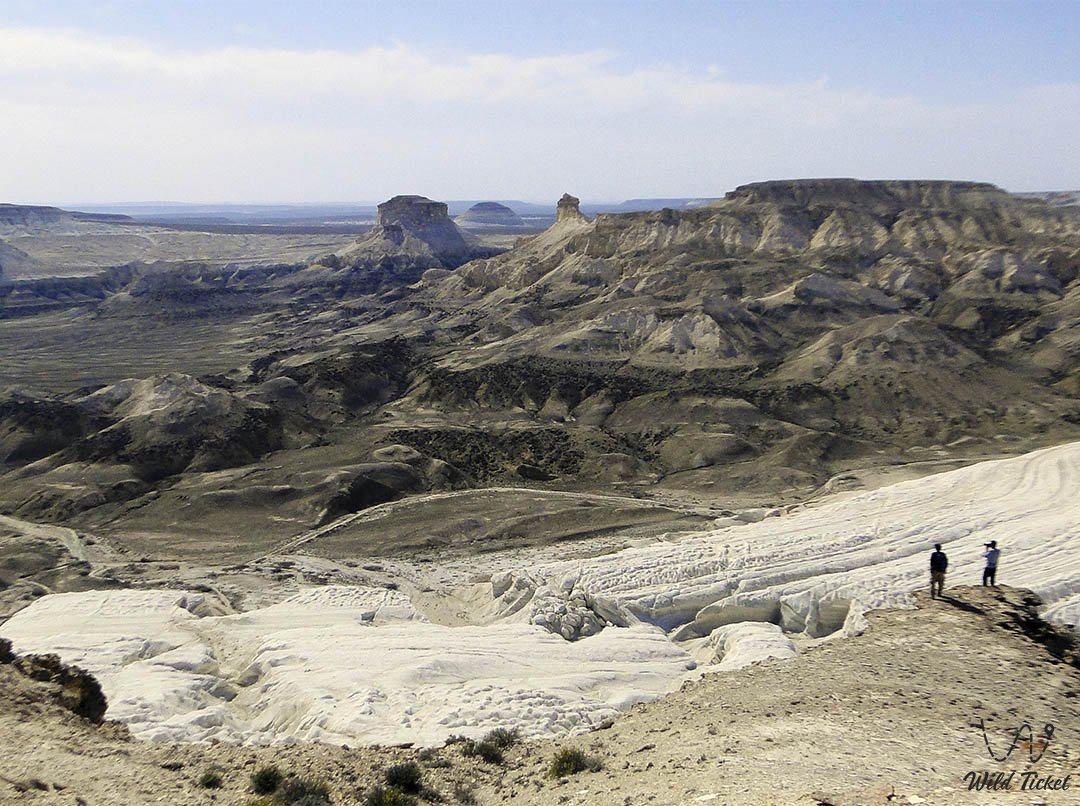 Boszhira panorama number #2 in Mangystau region, Kazakhstan.
