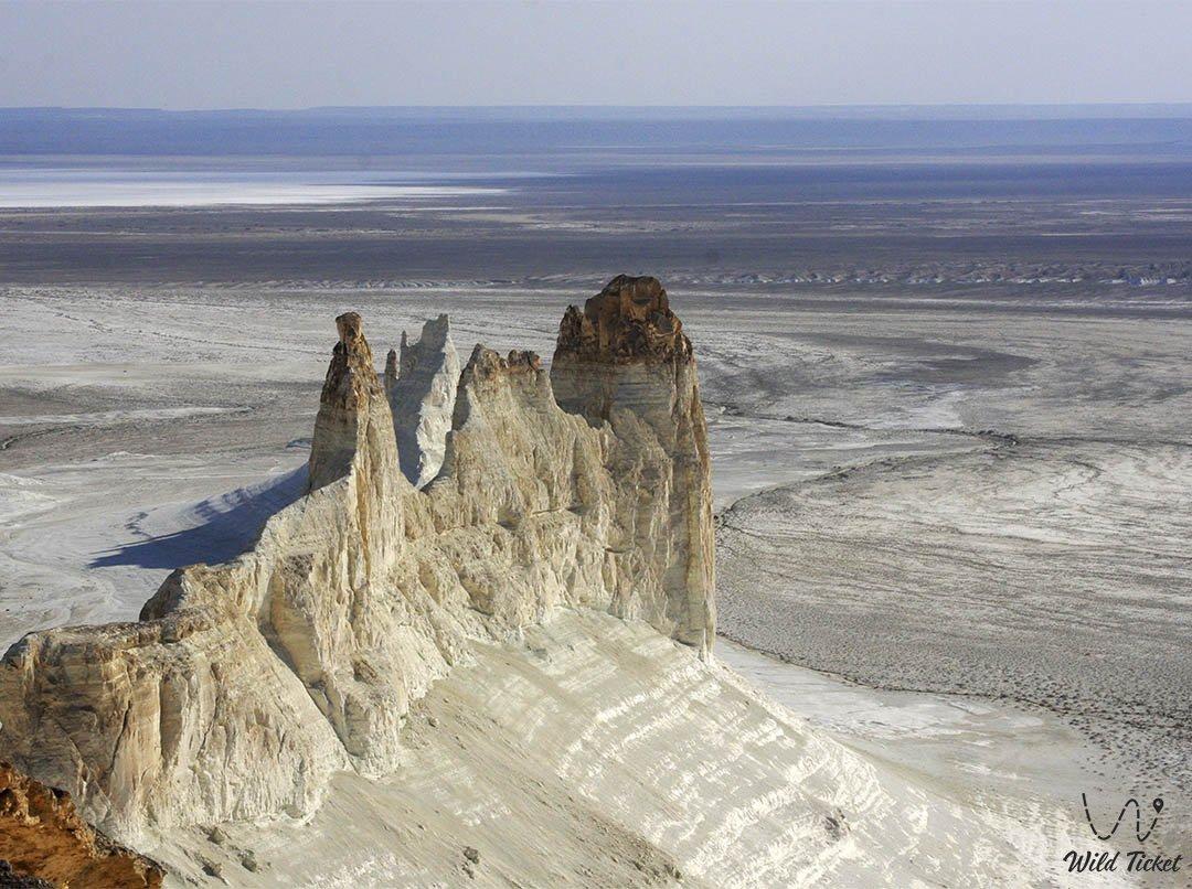 Boszhira panorama number #3 in Mangystau region, Kazakhstan.