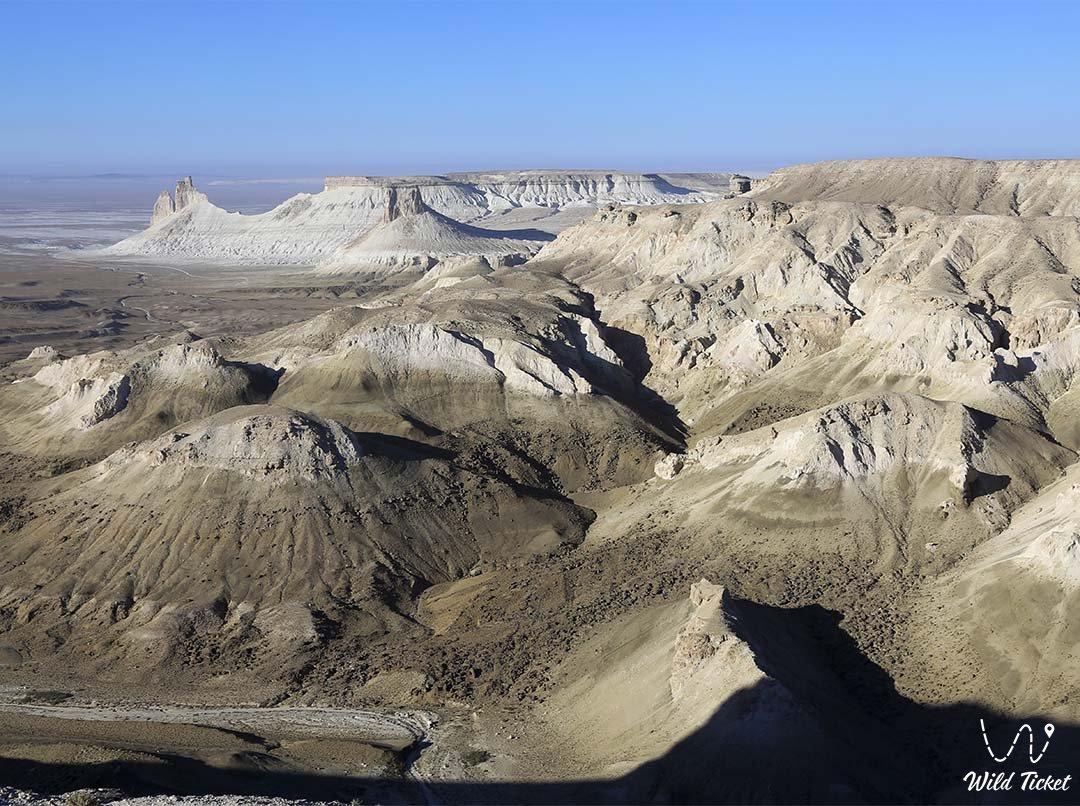 Boszhira panorama number #4 in Mangystau region, Kazakhstan.