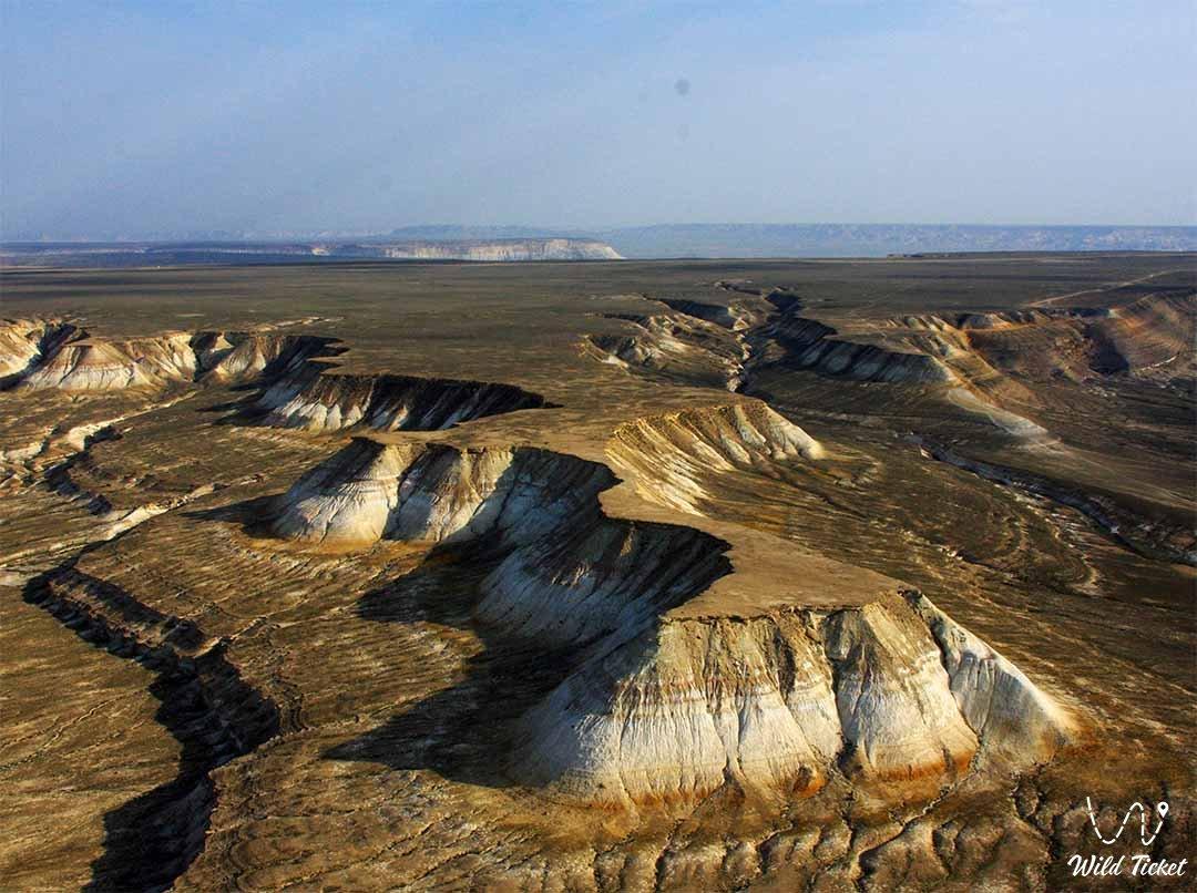 Boszhira panorama number #6 in Mangystau region, Kazakhstan.