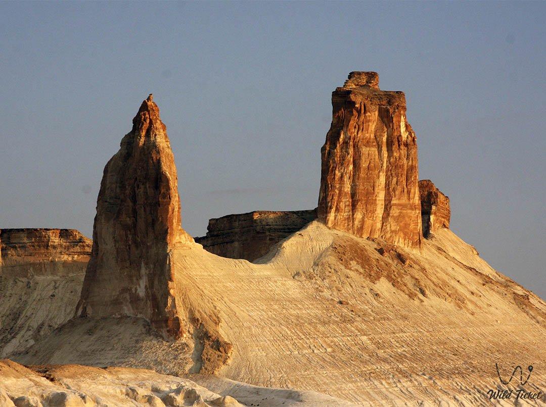 Azu Tisteri sight - Beauty of Mangyshlak, Kazakhstan.