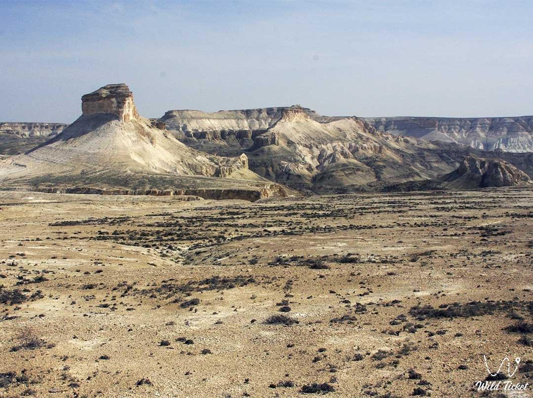 Oinak Boszhira place in Boszhira tract and valley, Mangystau, Kazakhstan.