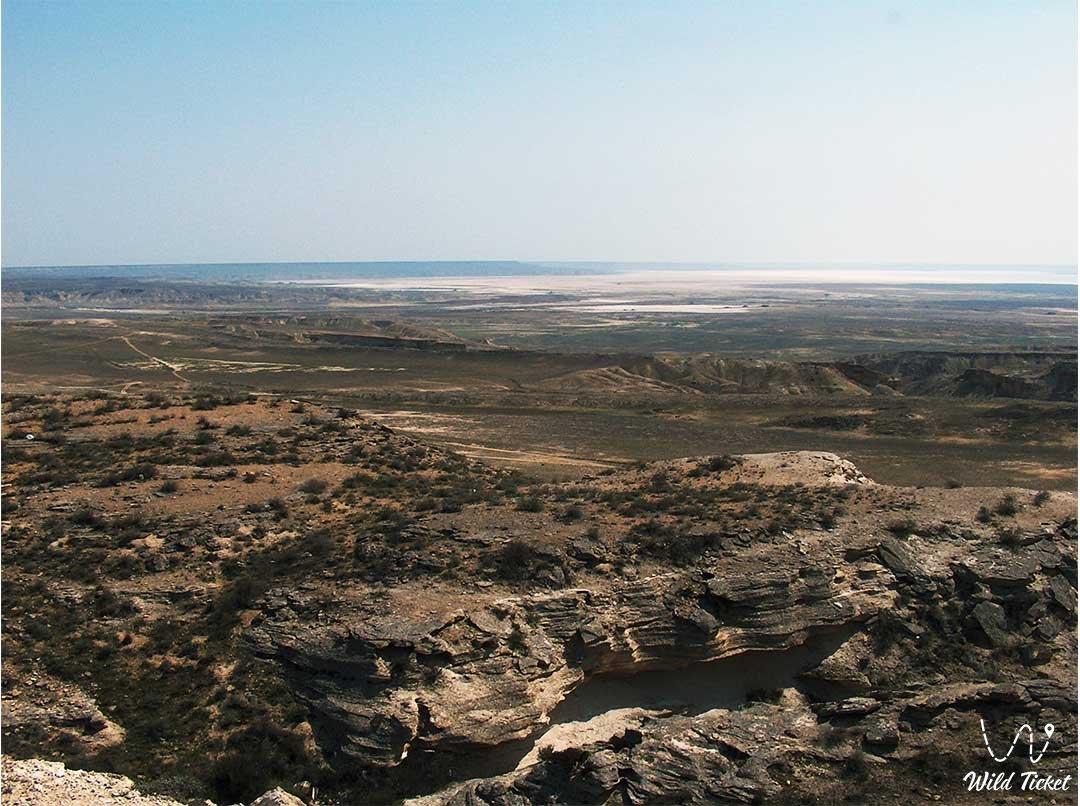 Karagiye depression in Mangyshlak region, Kazakhstan.