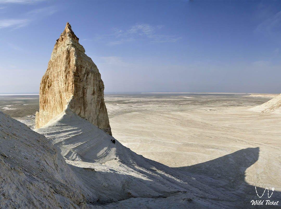 Mangyshlak highland in Mangystau region, Kazakhstan.
