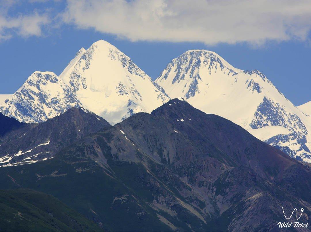 Казахстанский Алтай, горный регион в Восточном Казахстане.
