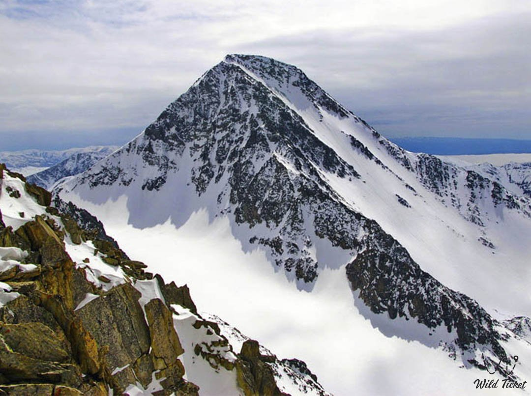 Berkutaul mount in Altai region, East-Kazakhstan region.