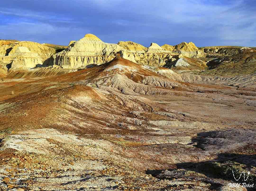 Ashutas canyon in East Kazakhstan region.