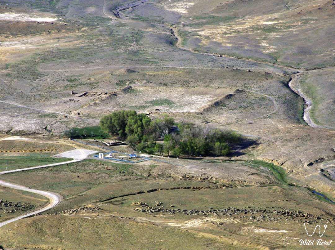 Akmysh tract in Mangystau region, Kazakhstan.