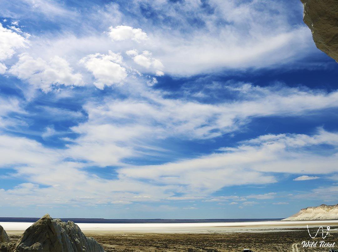 Tuzbair in Mangistau region, Republic Kazakhstan.