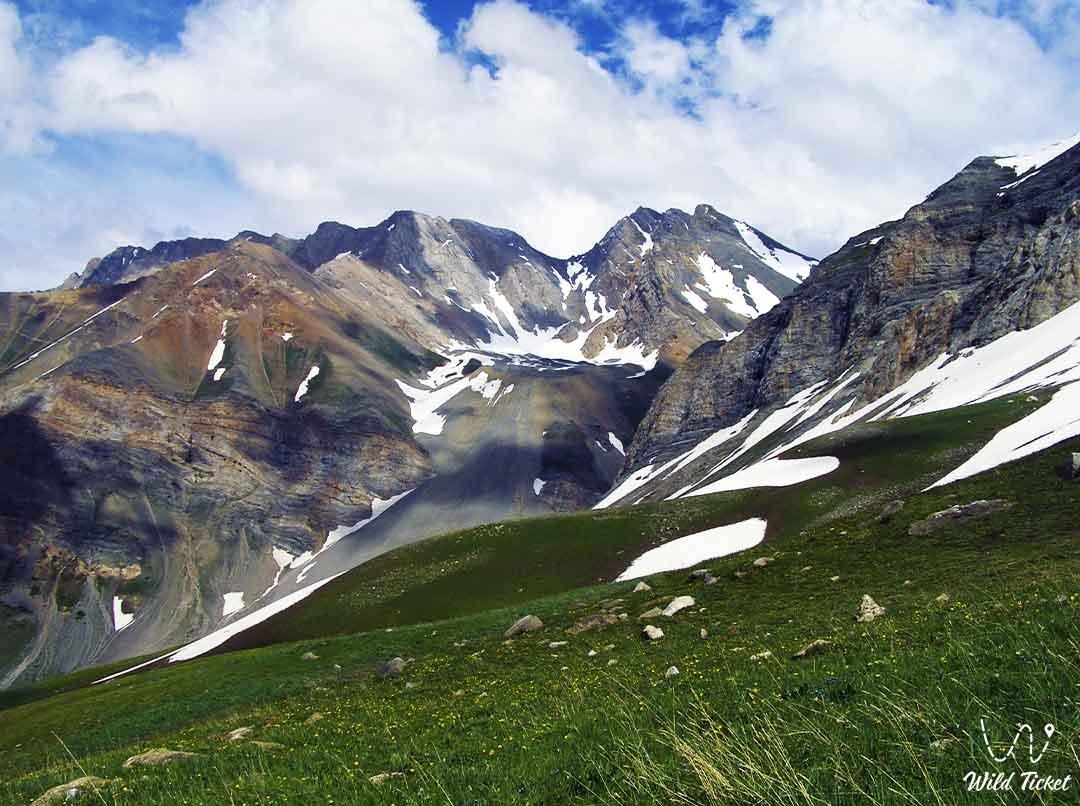 Ugam ridge in the Turkestan region, Kazakhstan.