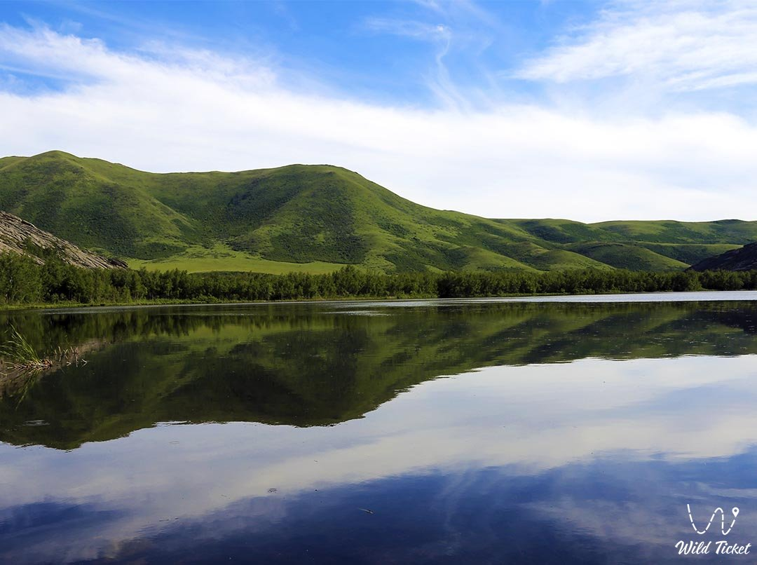 Sibinskie lakes, the pearl of East Kazakhstan.