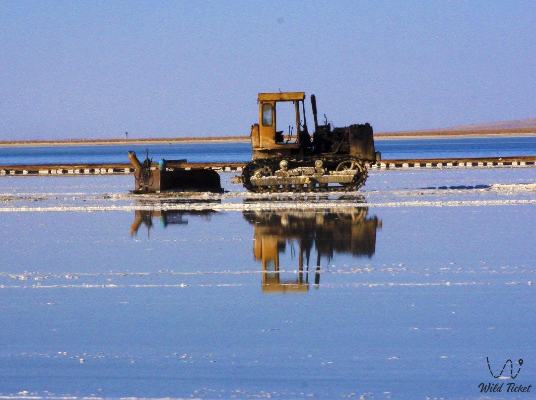 Озеро Жаксыкылыш. Аралтуз. Кызылординская область, Казахстан.