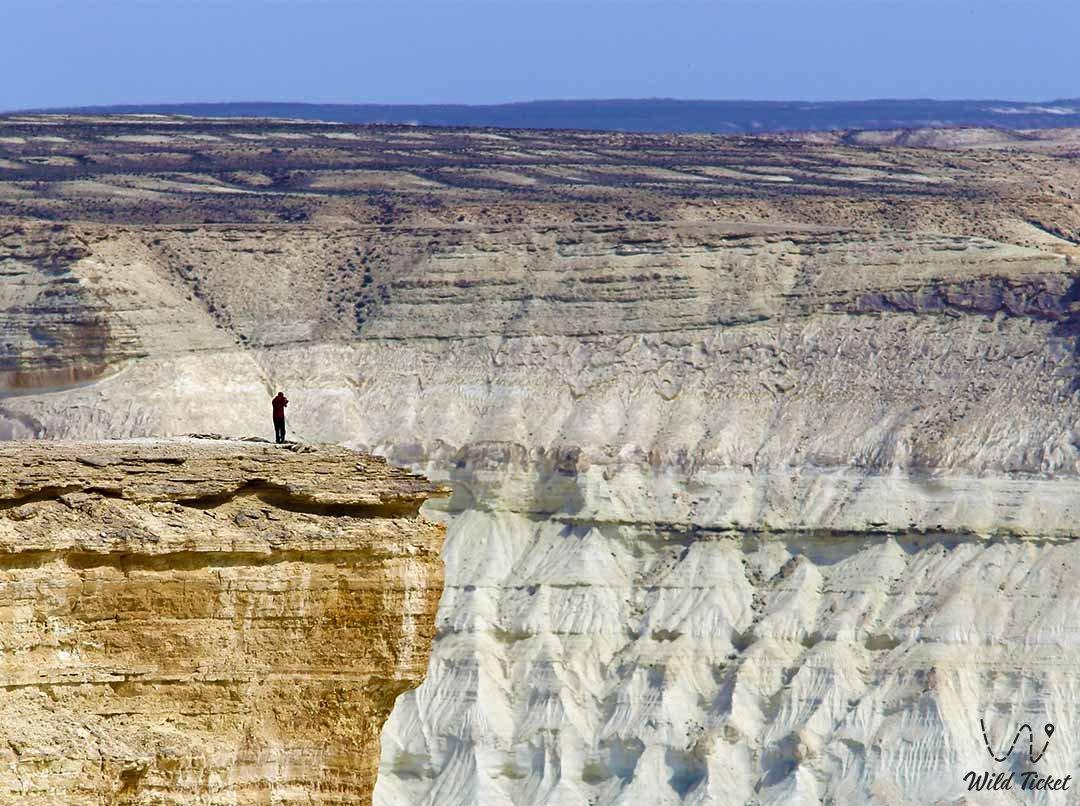 Zhogarly Boszhira plateau, Mangistau region, Kazakhstan.