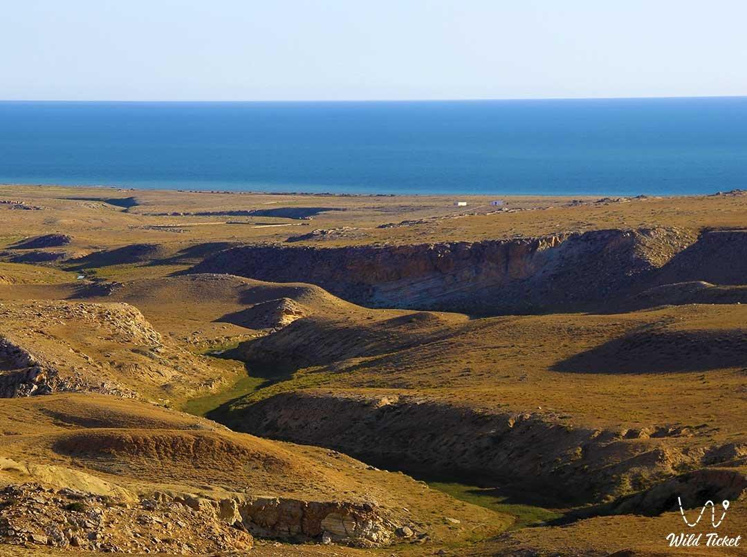 Meretsay Canyon, Mangyshlak Peninsula, Mangistau Region, Kazakhstan.