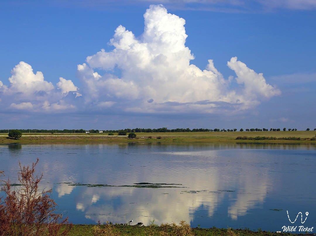 Айдарханское водохранилище, Западно Казахстанская область, Казахстан.