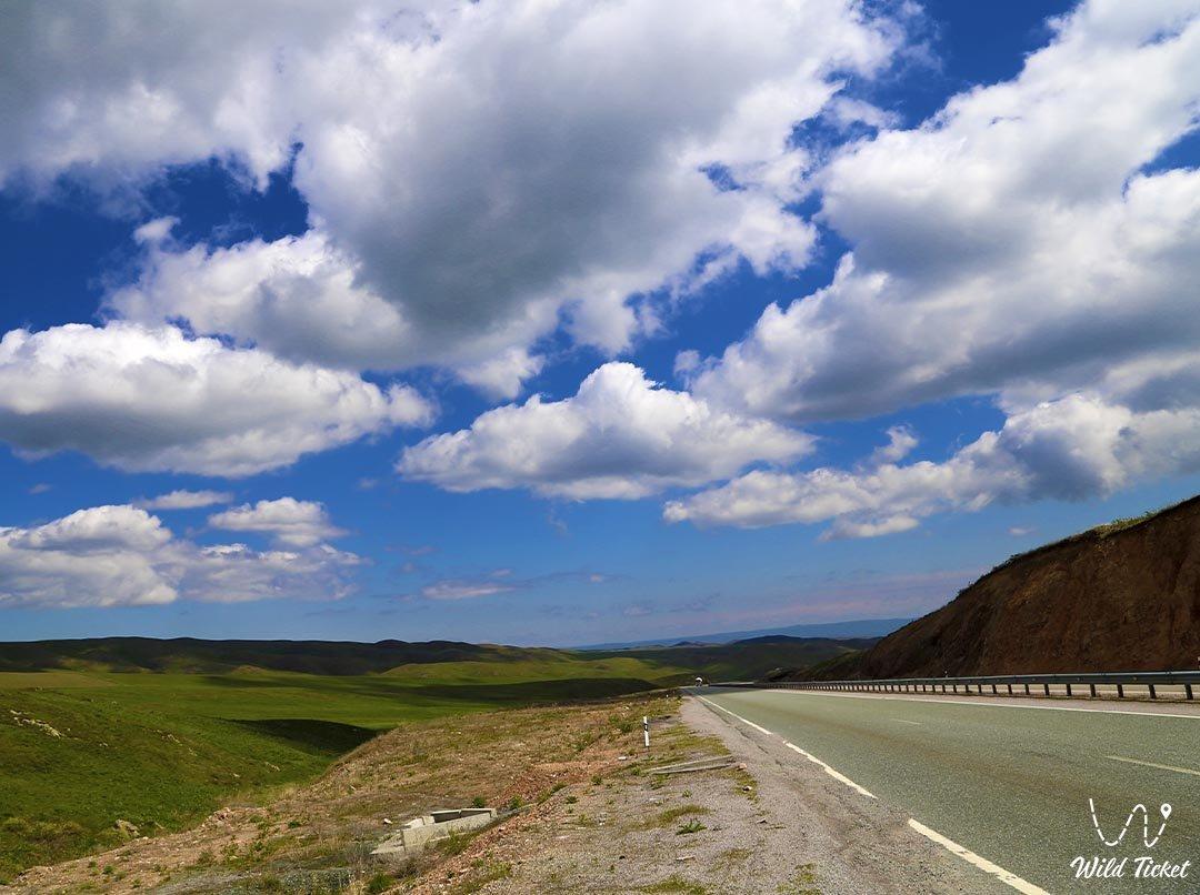 Кордайский перевал, Жамбылская область, Казахстан.