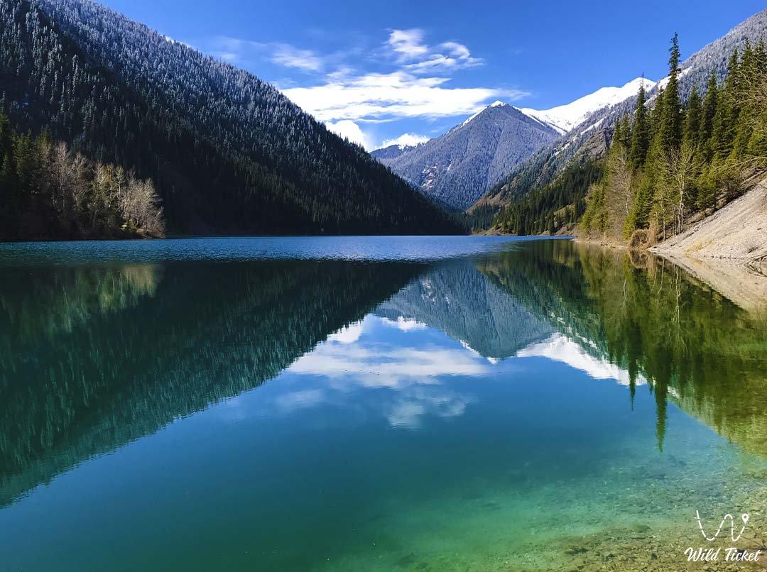 Lower Kolsai Lake #1, Kolsai National Natural Park, Kazakhstan.
