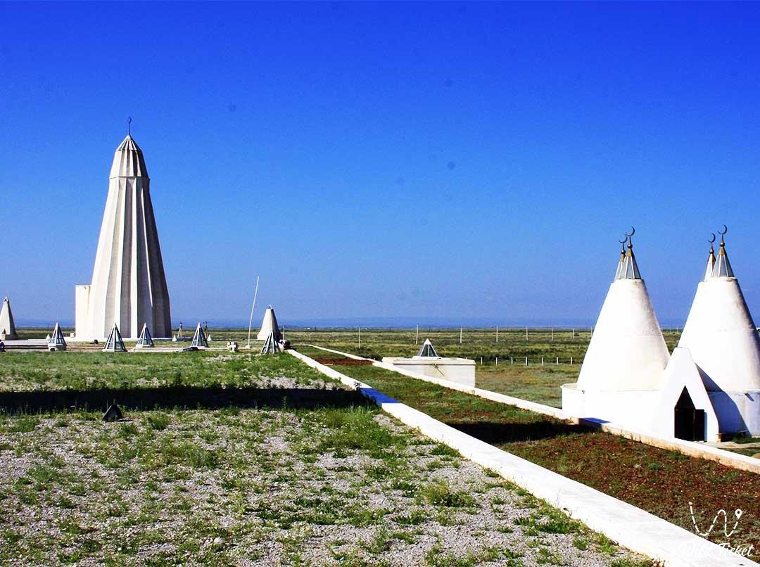 Урочище Жидебай и музей Абая в Восточном-Казахстане.