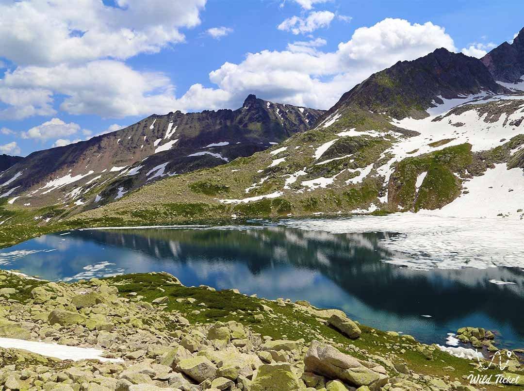 Turgusun Lakes, West Altai Nature Reserve.